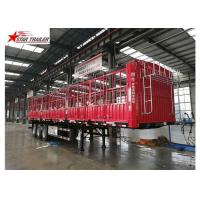 Wholesale Cargo Stake Side Wall Semi Trailer 60T Heavy Duty Load With Longer Service Life from china suppliers
