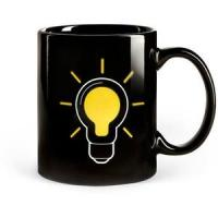 Wholesale SGS/ROHS/CE certifiction the change colors ceramic mug china the lamp bulb magic cup power mug from china suppliers