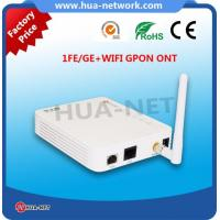 Buy cheap cortina chipset fiber optic network router ONU Epon 1 Fe/Ge +WIFI EPON ONU 1 GE +WIFI onu fiberhome from Wholesalers