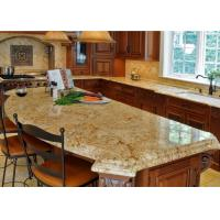 Wholesale Light Beige Block Granite Stone Kitchen Countertops / Sparkly Granite Worktops from china suppliers