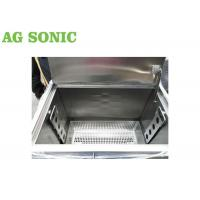 China BBQ Grill Plate Oil Carbon Degrease Clean Tank 258L With Lockable Castor Wheels on sale