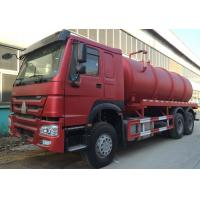 Wholesale Transporting Sewage Septic Tank Cleaning Truck / Septic Pumping Truck 17CBM LHD 336HP from china suppliers