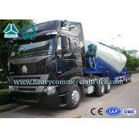 Buy cheap High Efficiency Tri-axle V Shape Cement Bulker Trailer With Mechanical Suspension from Wholesalers