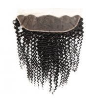 Wholesale Kinky Curly Brazilian Body Wave Lace Closure Unprocessed Human Hair from china suppliers