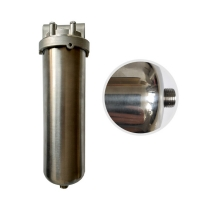 Wholesale 10 20 Inch Water Purifier 30 40 IOS Cartridge Filter Housing from china suppliers