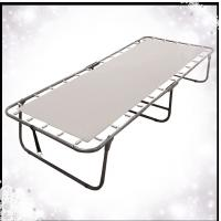 Metal Folding Rollaway Guest Bed Frame Without Mattress Of