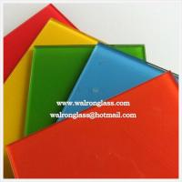 Wholesale Silk screenprinting tempered/toughened glass for glass splashback from china suppliers