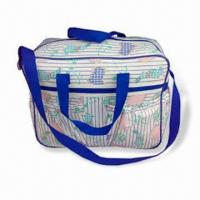 Wholesale Diaper Bag, Made of Polyester, Measuring 39.5 x 13 x 28cm, Customized Designs are Welcome from china suppliers