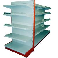Buy cheap Flat backboard Double-side Supermarket Gondola Shelving End Shelving from Wholesalers