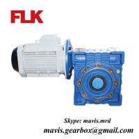 Wholesale RV type worm gear reducers,worm gear boxes,gear motors from china suppliers