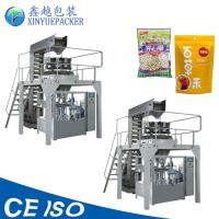 Wholesale Reliable Rotary Pouch Packing Machine / Zipper Pouch Packing Machine For Granules from china suppliers