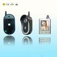 Wholesale Wireless Residential Colour Video Doorphone 2.4GHz With Infrared Night Vision from china suppliers