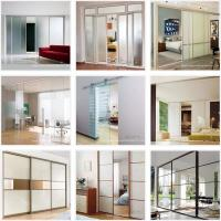8mm Clear/Frosted/Frameless/Tempered/Toughened Sliding Glass Door