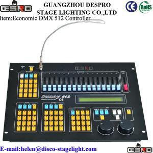 China Music Dance Hall DMX 512 Lighting Controller Stage Equipment AC 100V-240V 50-60Hz on sale