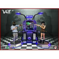 Wholesale 110 / 220V double seater VR interactive simulator with abundent immesive game from china suppliers