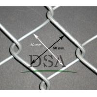 Wholesale 50*50mm chain link fence/High quality galvanized chain link fence/The school stadium chain link fence from china suppliers