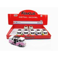 Wholesale TOY CAR, 1:30 DIE-CAST PULL BACK POWER WITHOUT MUSIC&LIGHT        2 DOOR OPEN from china suppliers