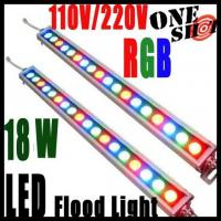 Wholesale DMX Controlled RGB LED wall washer light IP65 18W 24W 36W from china suppliers