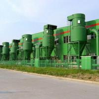 China Big Flow Industrial Cyclone Dust Collector High Cleaning Efficiency on sale