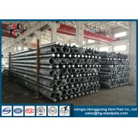 Wholesale 350daN Octagonal Steel Tubular Pole For Transmission Line Overhead Project from china suppliers