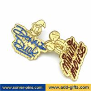 Buy cheap ADDGIFTS cartoon lapelpin custom gold lapel pins soft enamel pins from Wholesalers