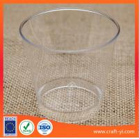 Wholesale ice cream cone plastic cups hard plastic  in transparent colour from china suppliers