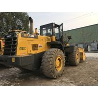 Buy cheap 260hp Used KOMATSU Loader WA470-3 Wheel KOMATSU 470 Loader 32.7km/H Max Reverse from wholesalers