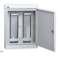 Wholesale Wall Mount Fiber Box For LSA Module , 100 - 1600 Pair Key Lock Cable Distribution Cabinet from china suppliers