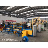 China PLC Automatic Chain Link Fence Making Machine For Making Chain Link Fence on sale