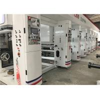 Wholesale BOPP PET PVC Rotogravure Printing Press 10 Colors 180 M/Min Mechanical Speed from china suppliers
