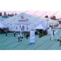 Wholesale 25*75M Elegant Outdoor White PVC Cover Tent Waterproof for Indian Auditorium Meeting from china suppliers