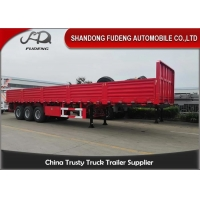 Wholesale Mechanical Suspension 40T 3 Axles 0.9m Side Wall Semi Trailer from china suppliers