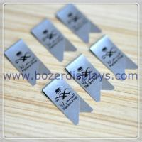Wholesale Stainless Steel Promotional Printed Paper Clips/Branded Paperclips from china suppliers