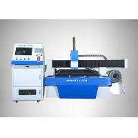 Buy cheap Round Metal Pipe / Sheet Fiber Laser Cutting Machine 3D Laser Cutter Machine Blue from wholesalers