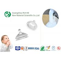 Wholesale ISO Nipple Liquid Silicone Rubber Food Grade RH5350 - 70 High Transparency for Baby Supplies from china suppliers