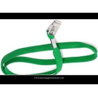 Wholesale 15*900mm green custom heat transfer Sublimation nylon Lanyard from china suppliers