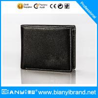 Wholesale Best selling custom Genuine Leather wallet,Leather Men's wallet,pu leather wallet from china suppliers