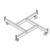 Buy cheap Lilladisplay gridwall four way base chrome 22407 from wholesalers