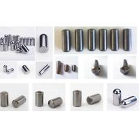 Wholesale K40 Spherical Tungsten Carbide Studs , Tungsten Carbide HPGR Stud from china suppliers