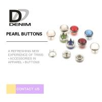 Wholesale Lightweight Down Jacket Buttons Colored Snap Buttons Men & Women'S Leisure Style from china suppliers