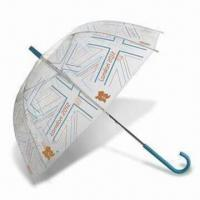 Wholesale London 2012 Union Flag Clear Dome Umbrella, Made of Recycled Polyester from china suppliers