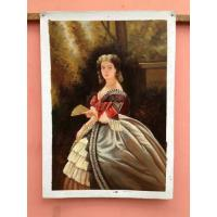 Wholesale Handmade Museum Quality Portrait Oil Painting Fashion Beauty Fir Or Pine Stretcher from china suppliers