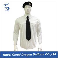 Buy cheap Wrinkle Resistant Security Polo Shirts / Security Officer Shirts For Company Guard from Wholesalers