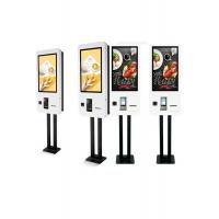 Wholesale Restaurant Floor Standing Self Ordering Kiosk With Illuminated Menu Board from china suppliers