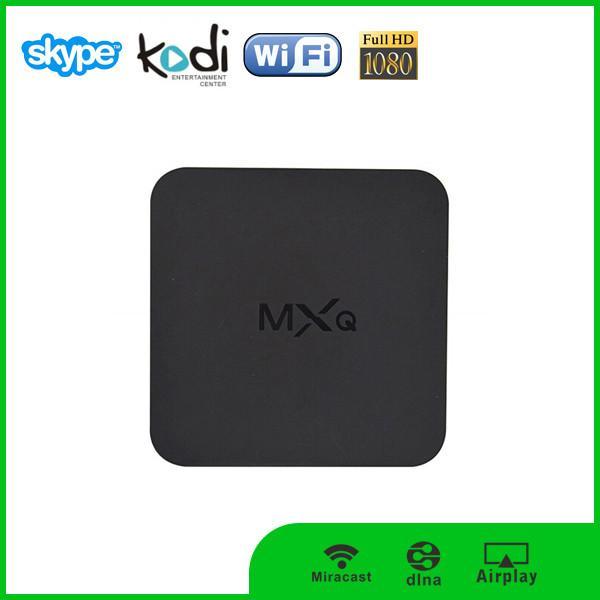 box android tv mxq s805 quad core 4k uhd android 4 4 spdif rj45