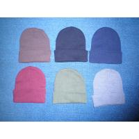 Cheap high quality winter slouchy Knitting acrylic beanie Watch Cap with Cuff snow cap for kids adults
