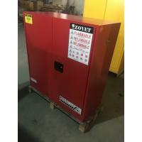 Wholesale Flammable Vented Chemical Storage Cabinets For Combustible Liquid 30 gallon from china suppliers