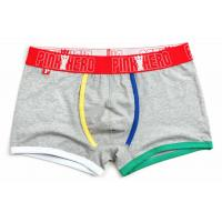 Wholesale Fashion High Rise Boxer Briefs , High Stretch Mens Cotton Boxer Shorts from china suppliers
