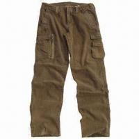 Wholesale Men's Cargo Pants with 7 Pockets, Snow Effect from china suppliers