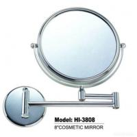 Wholesale Wall Mounted Brass Chrome Double Side Makeup Mirror from china suppliers